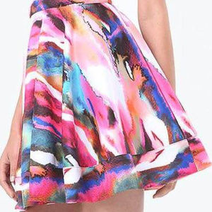 bebe Dresses - Bebe multicolor halter dress XL